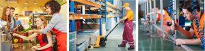 práca v obchode logistike výrobe